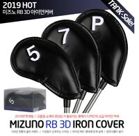 Mizuno 2019 Original New RB 3D Golf Iron Club Head Cover Artificial Leather 8pcs