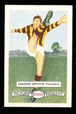 1958 Atlantic Petrol Hawthorn Hawks Graham Arthur Card no. 17