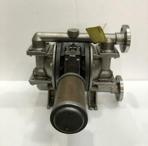 """WILDEN PX200/SSAAA/TSU/TF/STF STAINLESS STEEL DOUBLE DIAPHRAGM 1"""" PUMP"""