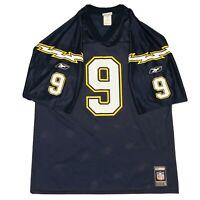 Vintage Reebok San Diego Chargers Drew Brees Rookie NFL Football Jersey, Mens L