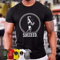 Arnold Schwarzenegger T-Shirt | Bodybuilding Clothing Gym Top Vest GYMTIER