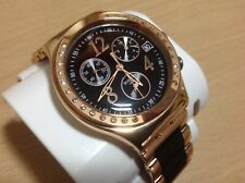 Swiss Made Gold Tone SWATCH  Chrono Date 4 Jewel Wristwatch....Ex-Display BOXED