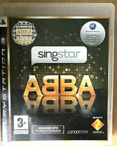 Singstar Abba PS3 Game Karaoke Singing for Sony PlayStation 3