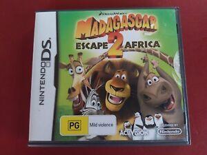 Madagascar 2 Escape Africa Nintendo DS game - complete
