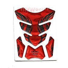 Red For Kawasaki Ninja 250 300 ZX6R ZX7R ZX9R Fuel Gas Tank pad Decals Sticker