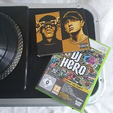 DJ Hero Renegade Edition Xbox 360 Complete With CD & Stickers