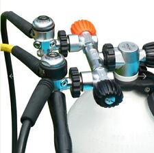 Nautec AIR CONTROL Air 230 Doppel-Vorsatzventil ,Flaschenventil ,