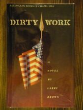 Larry Brown / Dirty Work / SIGNED 1st/1st HCDJ First