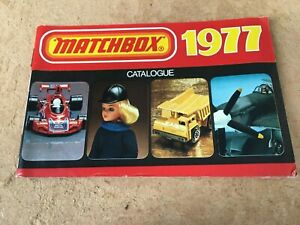 MATCHBOX TOYS CATALOGUE 19717 UK EDITION IN NEAR EXCELLENT CONDITION