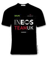Ineos team cycling fan t shirt black