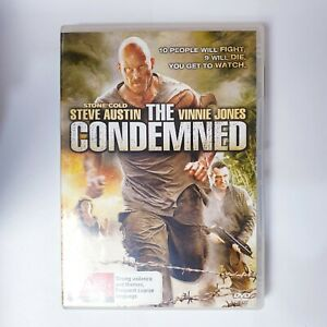 The Condemned Movie DVD Region 4 AUS Free Postage - Action