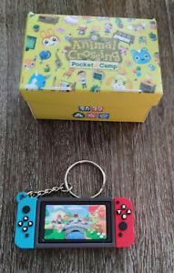 Nintendo switch mini keychain game gift video keyring Animal Crossing