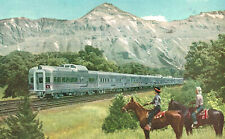 Vintage Postcard-he Denver Zephyr, Burlington Route, Co