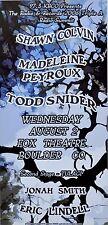Shawn Colvin – Madeleine Peyroux – Todd Snider 2006 Concert POSTER