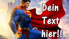 Tortenaufleger Superman Muffin NEU Deko Tortenbild mit Namen A4 eßbar Kostüm neu