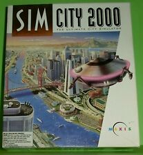 Sim City 2000 - The Ultimate City Simulator (PC - Spiel)