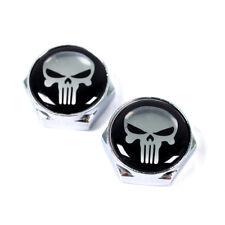 Kennzeichenschrauben Nummernschildschrauben Skull 2 Stück