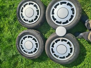 Pirelli P Slot Alloy Wheel's With Centre Caps.