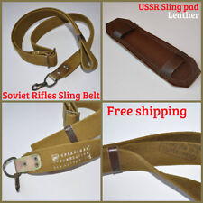 Russian Rifle Sling Belt OTK Marked Canvas with Pad USSR Soviet Military Surplus