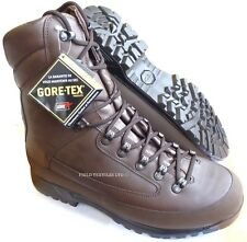 BRITISH ARMY KARRIMOR SF GORETEX BROWN COLD WEATHER BOOTS - 13 MEDIUM - NEW