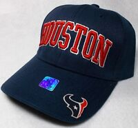 READ LISTING! Houston Texans Team Colors. 3D Embroidered Hat Cap! Bill Logo!