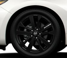 6x Alloy Wheels Stickers Fits Nissan Nismo Graphics Vinyl Decals RD52