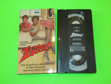 ZAPPED VHS TAPE RARE