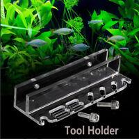 Scissor Pruning Aquarium Tool Holder Storage Rack Water Plant Cleaning Aquatic