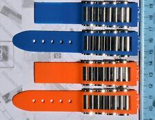 cinturino in gomma e acciaio per orologio JORG HYSEK originale ancora NUOVO