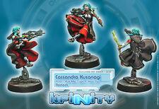 Infinity Corvus Belli Cassandra Kusanagi Multi Rifle Nomads blister metal new