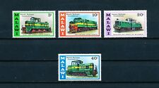 Malawi  289-92 MNH, Locomotives, 1976