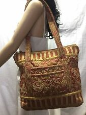 Jennifer Taylor Quilted Tote Shoulder Bag Purse