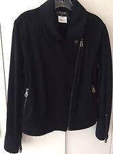 Chanel Wool Jacket Moto Jacket