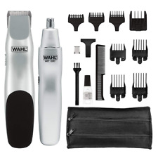 Wahl Beard Mustache Trimmer Men Grooming Ear Nose Hair Clipper Electric Shaver