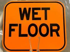 Arrow Sign Co Traffic Cone Safety Sign Wet Floor Wetf