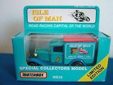 MATCHBOX MB38 - FORD MODEL A VAN - ISLE OF MAN TT 1991 - LIMITED EDITION