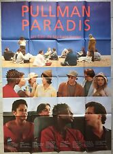 Affiche PULLMAN PARADIS Michèle Rosier CHARLES BERLING Yann Collette 120x160cm *