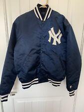 Vintage  New York Yankees Starter Satin Jacket Diamond Collection Size Large