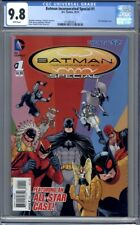 Batman Incorporated Special #1 (2013)    1st Print  CGC 9.8