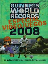 Libro Guinness World Records 2008 - Especial Videojuegos - Tapa Dura -