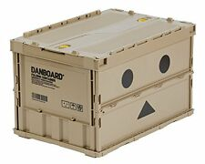 "Amazon Limited TRUSCO ""Danbo"" thin foldable container 50L with locking lid EMS"