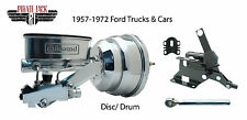 "1957-72 Ford 8"" Dual Chrome Power Booster & Wilwood Conversion, Cars & Trucks"