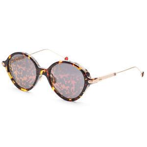Christian Dior Women's UMBRAGE-0X3TN-52 52mm Havana Red Gold Frame Sunglasses