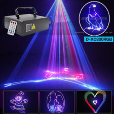 1100mw remote control RGB animation laser light DMX home party DJ stage light