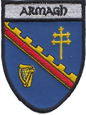Armagh County Ireland Irish Flag Embroidered Badge Patch
