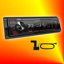 Kenwood KMM-DAB307 DAB+ UKW Autoradio mit USB, 13-Band Equalizer, inkl. Antenne