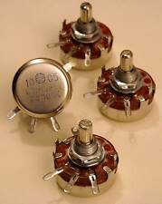 LOT DE 4 POTENTIOMETRES DE PUISSANCE ASSORTIS 2 WATTS - NON INDUCTIFS