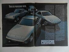1978 Print Ad Porsche 911SC Sports Car Automobile ~ Nothing Even Comes Close