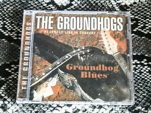 The Groundhogs ‎– Groundhog Blues Live Cd album   New Case Nr Mint