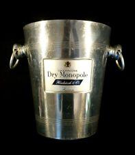 Beautiful Vintage French Aluminium Dry Monopole Champagne Bucket